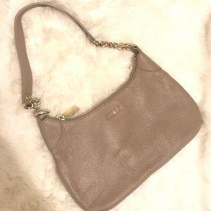Furla Mauve gold chain bag